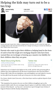 Helping the kids may turn out to be a tax trap - Independent.ie 2016-02-13 08-23-25